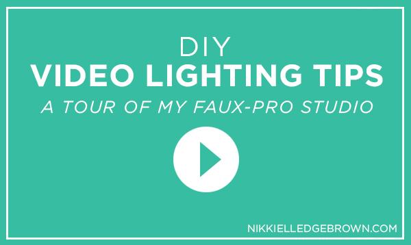 DIY Lighting Tips